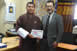 Koji Yamada, made a courtesy call to Trashigang Dasho Dzongda at his office in Trashigang town (March 7, 2018)