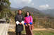 Chief Representative, Koji Yamada, and Administrative Officer, Ms. Chenga Lham, visited Mr. Rinchen Dorji, GAO of Orong Gewog of the Samdrup Jongkhar Dzongkhag. Mr. Rinchen is one of the participants who attended the JICA Knowledge Co-Creation Program for Young Leaders 2017 on local governance and visited the Fukui prefecture in August 2017 (March 8, 2018).