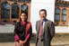 Chief Representative, Koji Yamada, visited Ms. Kezang Lhamo, gewog administration officer at the Shumar Gewog Center in Pemagatshel (March 9, 2018)