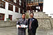 Chief Representative, Koji Yamada, visited Mr. Jigme Norbu at Paro College of Education (March 17, 2018