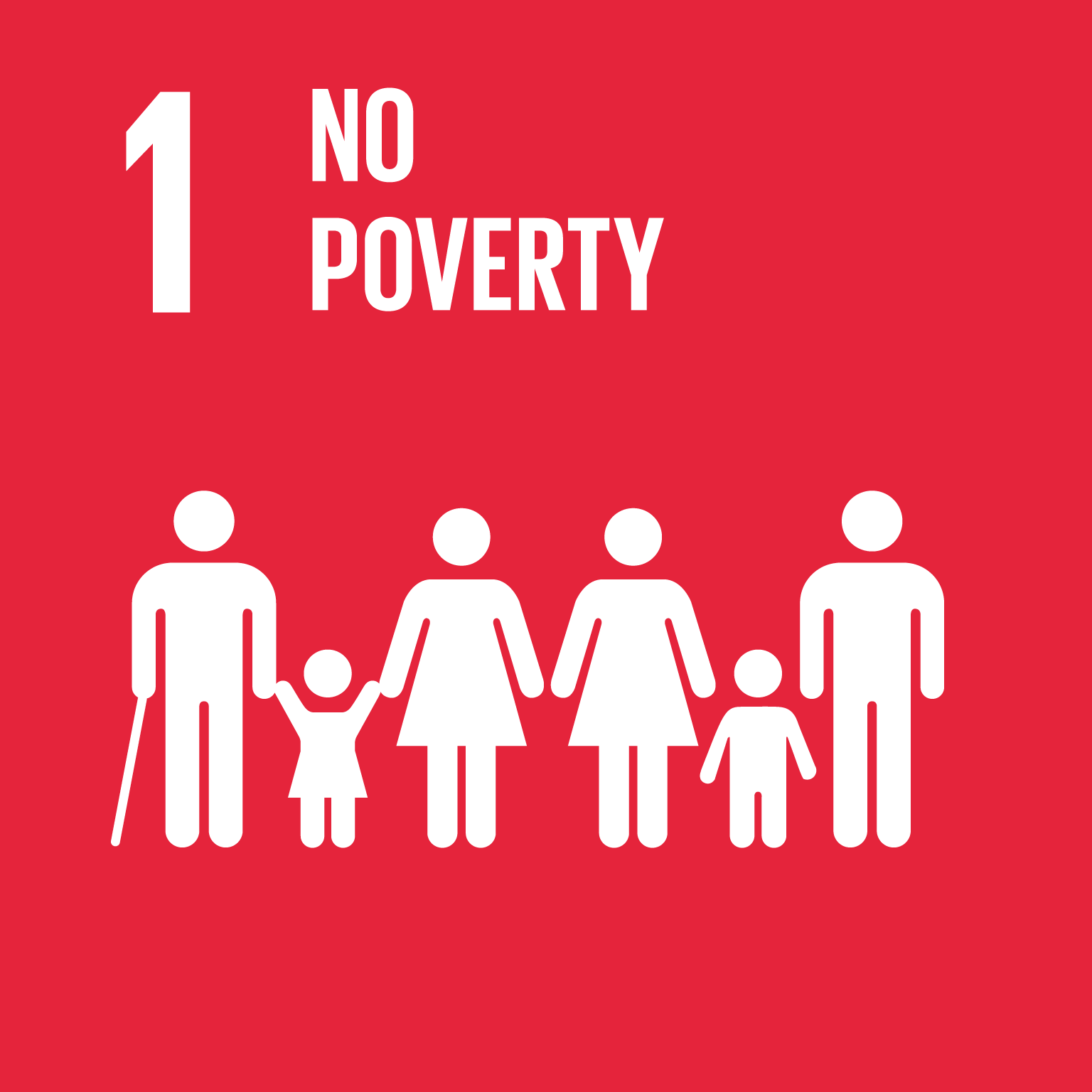 【SDGs logo】NO POVERTY