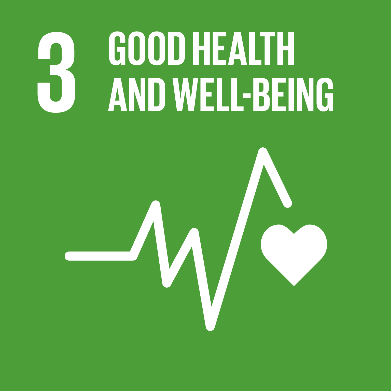 【SDGs logo】GOOD HEALTH AND WELL-BEING