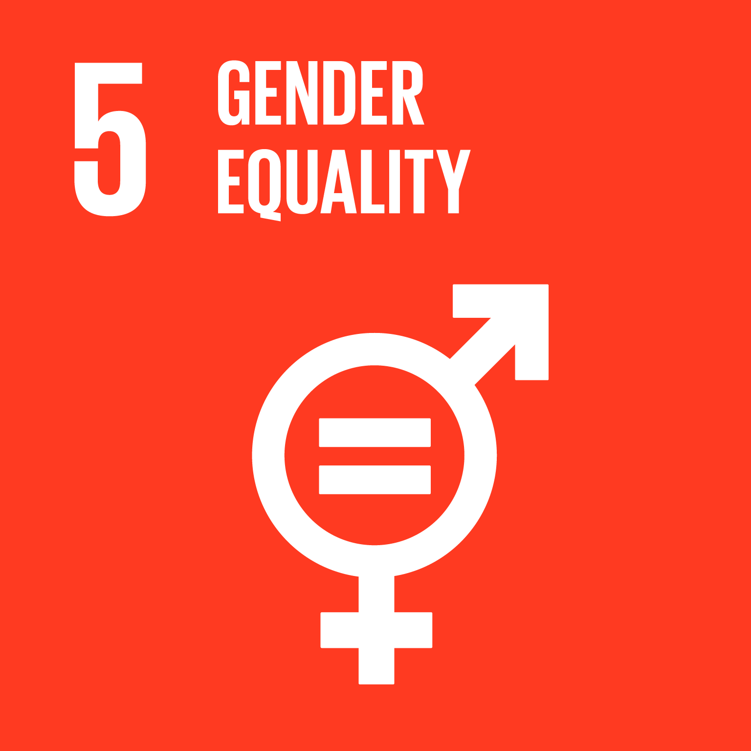 【SDGs logo】GENDER EQUALITY