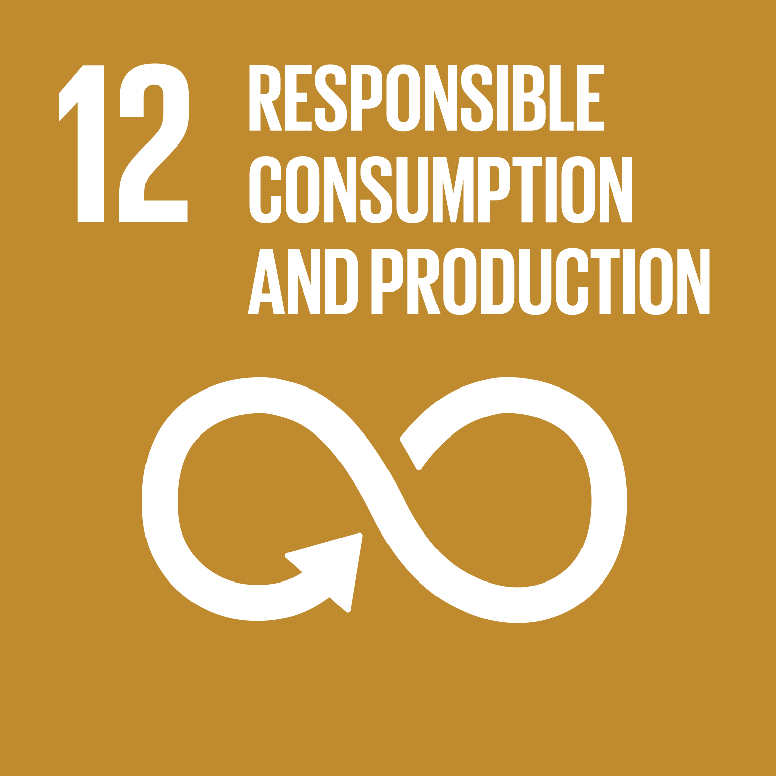 【SDGs logo】RESPONSIBLE CONSUMPTION AND PRODUCTION