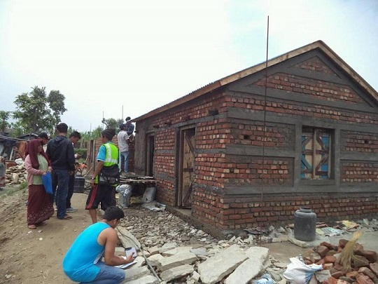 Building On Community Strength For Earthquake Resilient Houses To Nepal News News Features Jica One year after the 2015 earthquake in nepal: earthquake resilient houses to nepal