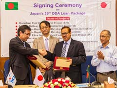 Signing of Japanese ODA Loan Agreements with Bangladesh