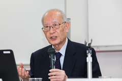 Yasutami Shimomura, professor emeritus of Hosei University