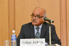 Selim Jahan, Director of the Human Development Report Office in UNDP