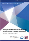 Triangular Cooperation Mechanisms: A Comparative Study of Germany, Japan and the UK