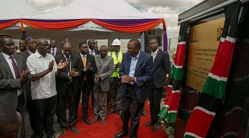 Kenyan President Breaks Ground for the Olkaria V Geothermal