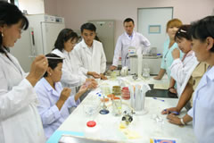 Training of Veterinary Specialists on the Reliable and