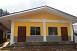Newly constructed building of Community Training Centre in Bungkot, Gorkha. Built under Quick Impact Project of JICA.