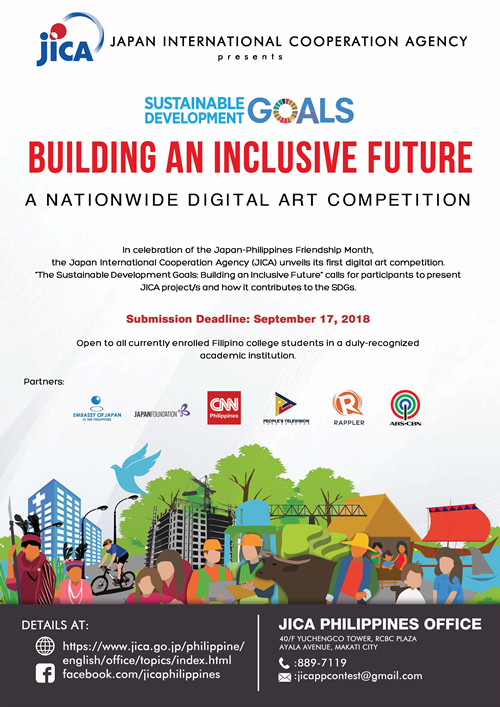 JICA launches campaign to promote SDG awareness among Filipino youth