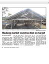 Madang market construction on target