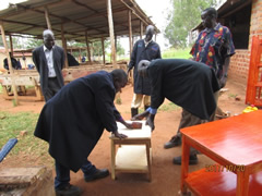 Trainings for the South Sudan Vocational Training