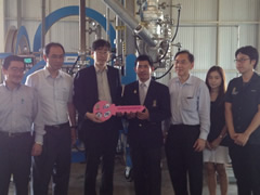 Handover Ceremony of New Biodiesel Synthesis Pilot Plant