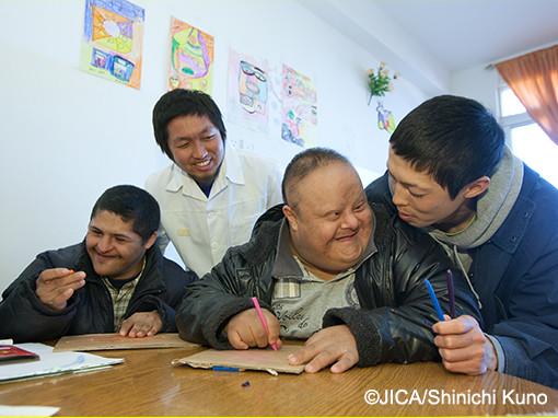 障害児・者支援 | JICA海外協力隊