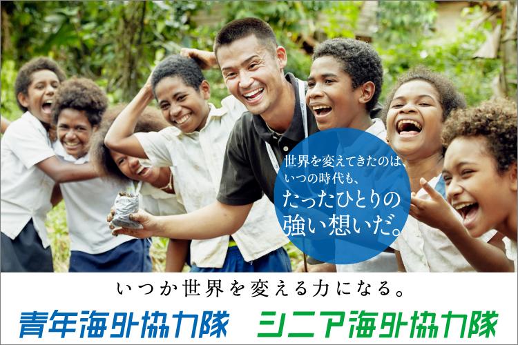 隊 青年 海外 協力